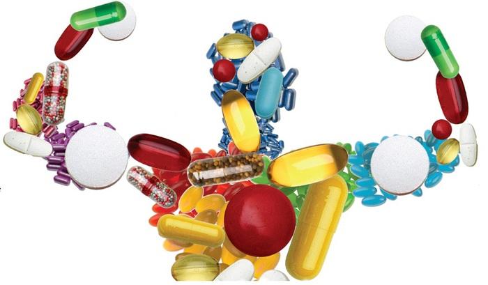 Биологически активные добавки для укрепления здоровья