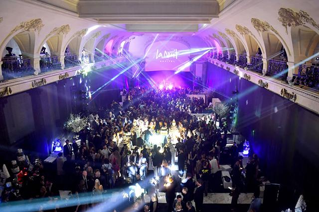 Джиджи Хадид, Наоми Кэмпбелл, Елена Перминова и другие на вечеринке Карин Ройтфельд в Париже