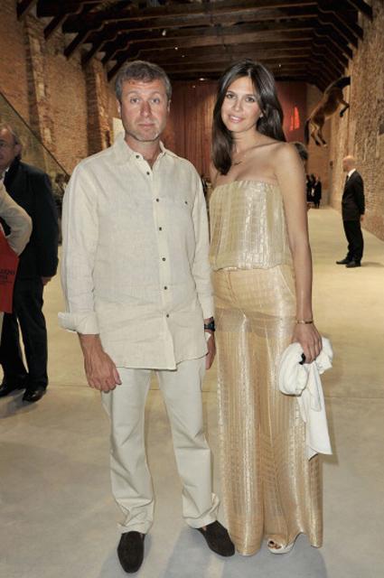 Роман Абарамович и Даша Жукова, 2009 год