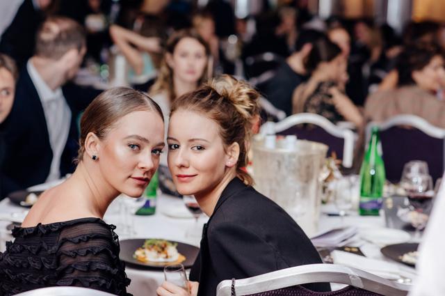 Аглая Тарасова и Ирина Старшенбаум