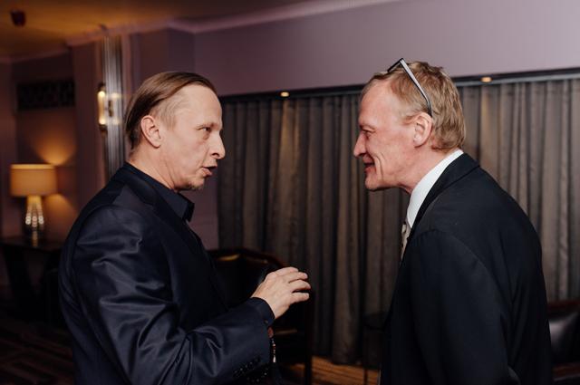 Иван Охлобыстин и Алексей Серебряков