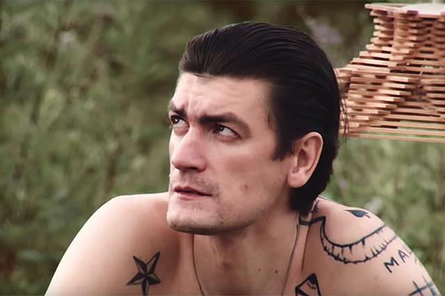 """Александр Гудков в клипе """"Пьяная любовь"""""""