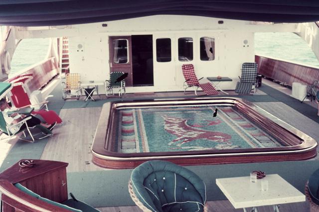 Хайди Клум и Том Каулитц устроили предсвадебную вечеринку на легендарной яхте