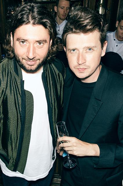 Михаил Друян и Денис Катаев