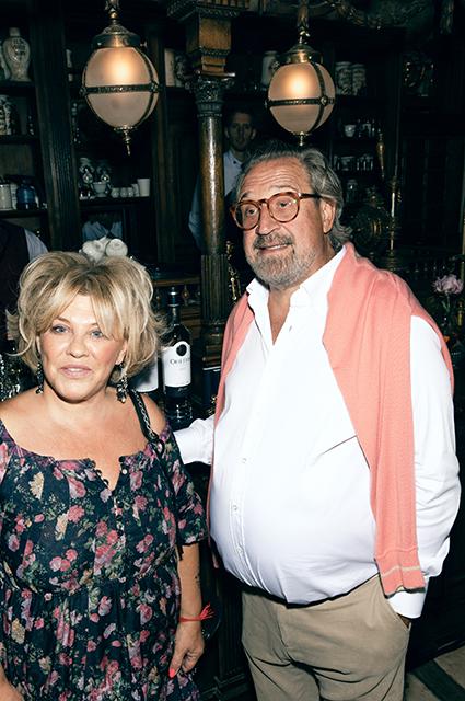 Александр Гафин с женой
