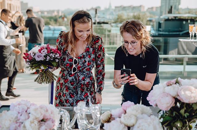 Марина Костина и Ксения Собчак