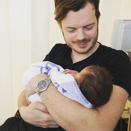 Ричард Джонс с сыном