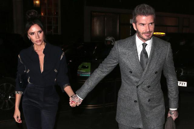 Виктория и Дэвид Бекхэм посетили Неделю мужской моды в Лондоне