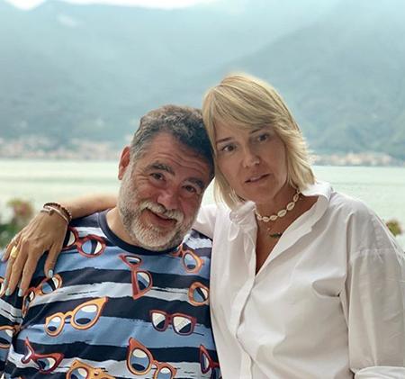 Михаил Куснирович и Юлия Бордовских