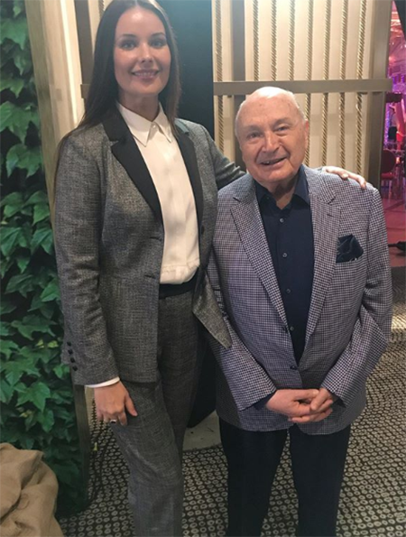 Оксана Федорова и Михаил Жванецкий