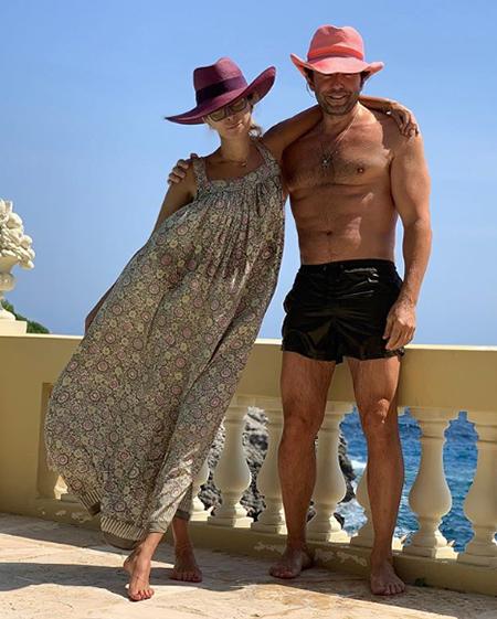 Ника Белоцерковская и Андрей Малахов