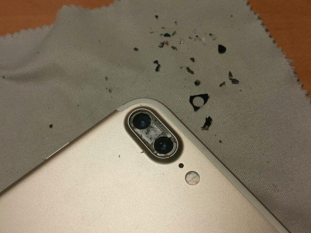 Быстрая замена стекла камеры на Айфоне