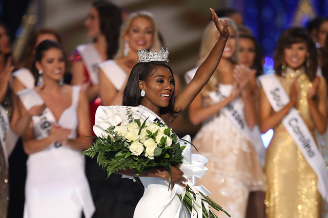 Титул «Мисс Америка — 2019» завоевала Ниа Имани Франклин из Нью-Йорка