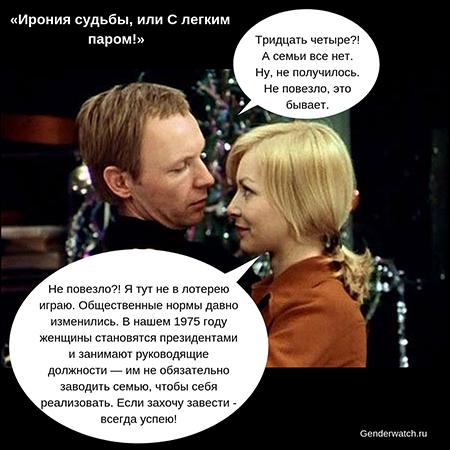 Гендерные стереотипы в советском кино: учим матчасть накануне старого Нового года