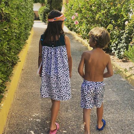 Дочь Нина и сын Ваня