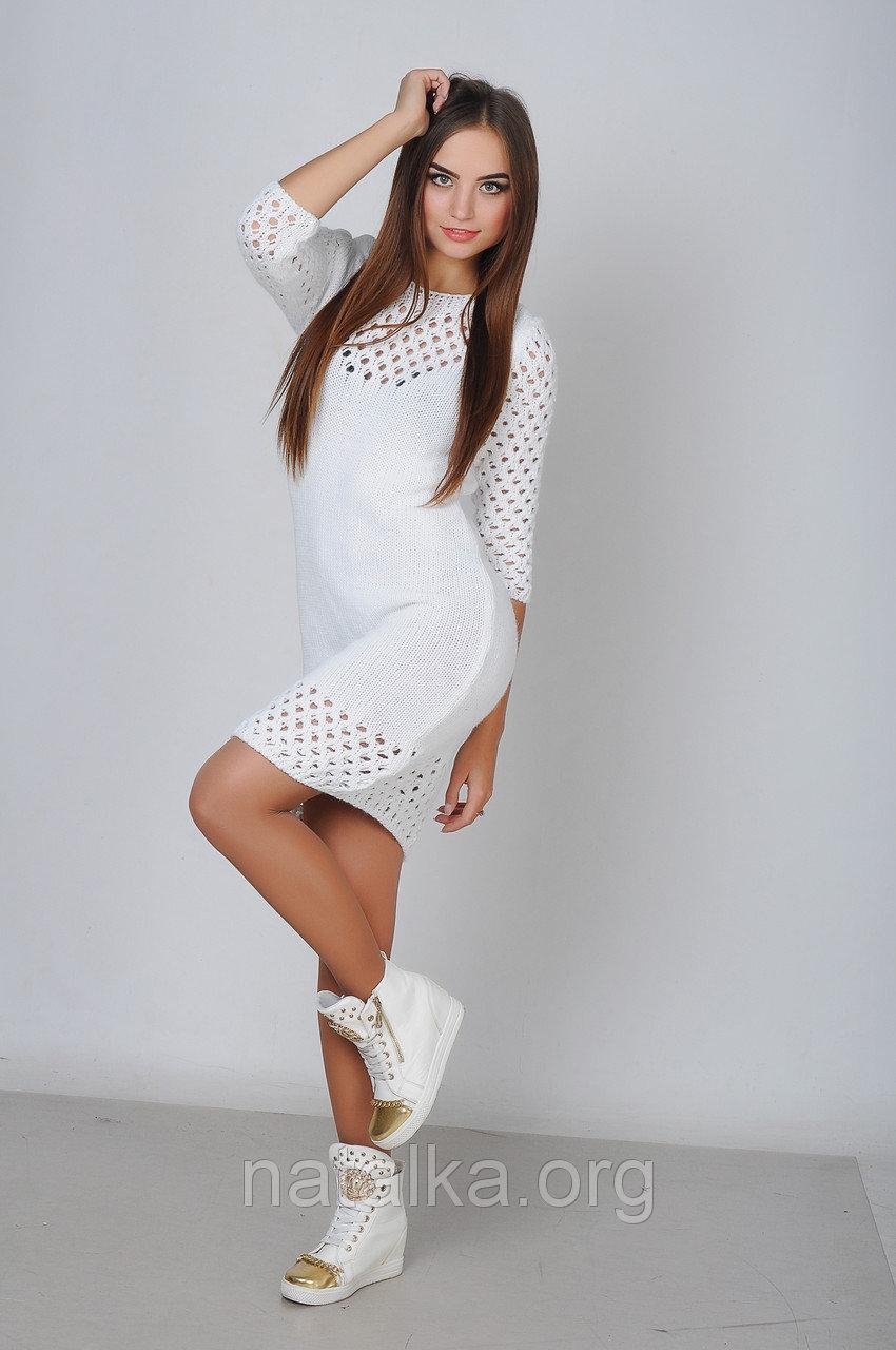 Женские вязаные платья от украинского производителя