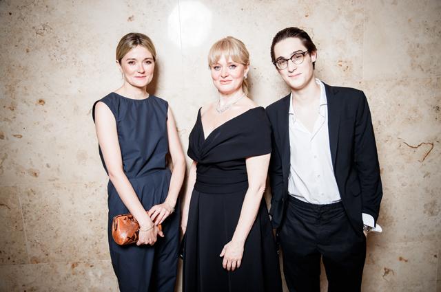 Надежда Михалкова, Анна Михалкова с сыном Сергеем