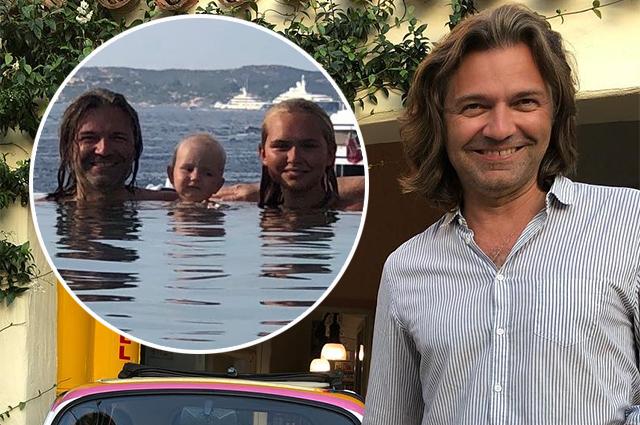 Дмитрий Маликов отдыхает на Лазурном Берегу с маленьким сыном: все о каникулах звездного семейства
