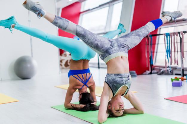 Современный фитнес-клуб для занятий спортом