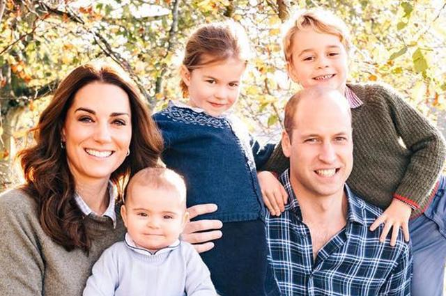 Королевская семья представила новые семейные фотографии Кейт Миддлтон, Меган Маркл, принцев Уильяма и Гарри