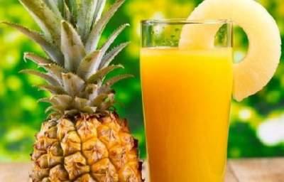 Врачи рассказали о пользе ананасового сока