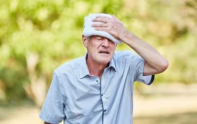 Медики напомнили об основных симптомах теплового удара