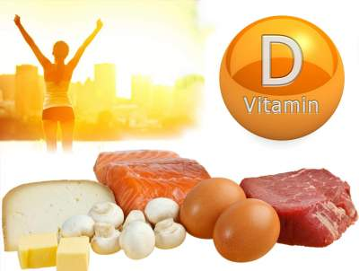 Названы главные признаки нехватки витамина D