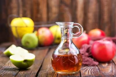 Яблочный уксус признали средством от бородавок