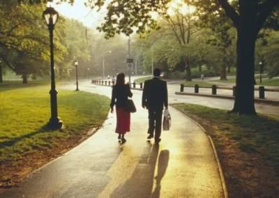 Выявлен неожиданный эффект прогулок по парку