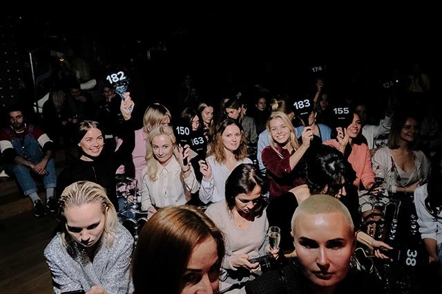 Полина Киценко, Инна Маликова, Галина Юдашкина и другие на модном показе