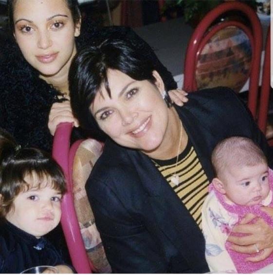 Архивное фото Крис Дженнер с дочерьми