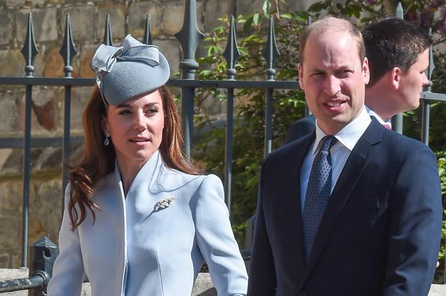 Кейт Миддлтон, принцы Уильям и Гарри и другие на пасхальной службе в день рождения Елизаветы II