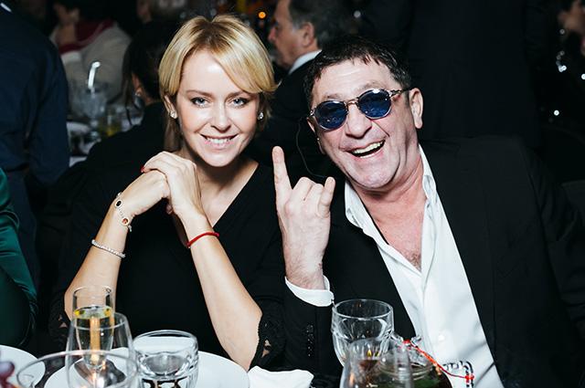 Григорий Лепс с женой