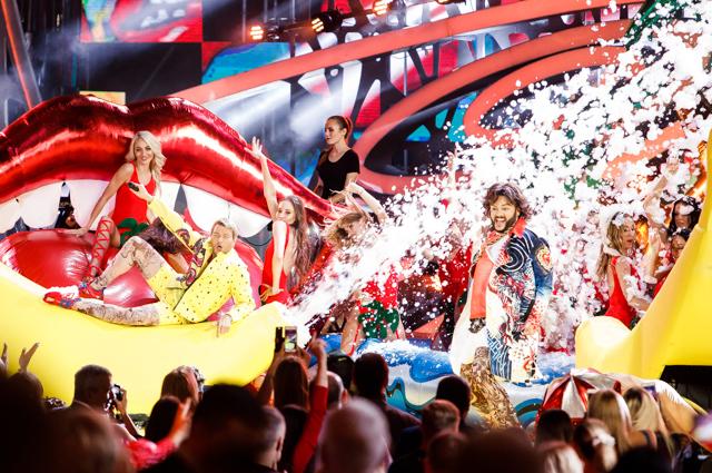 День премьер и объявление победителя конкурса «Новая волна — 2018»: яркое шоу Киркорова и Баскова, дуэт Тимати и Крида и многое другое