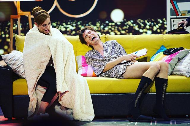Размытые границы: отмечаем 23 февраля с лучшими женскими образами Александра Гудкова