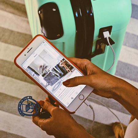 Smart-чемодан