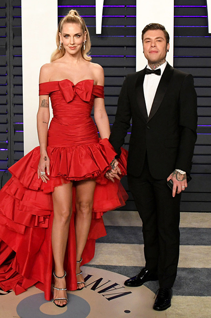 Кьяра Ферраньи с мужем музыкантом Fedez