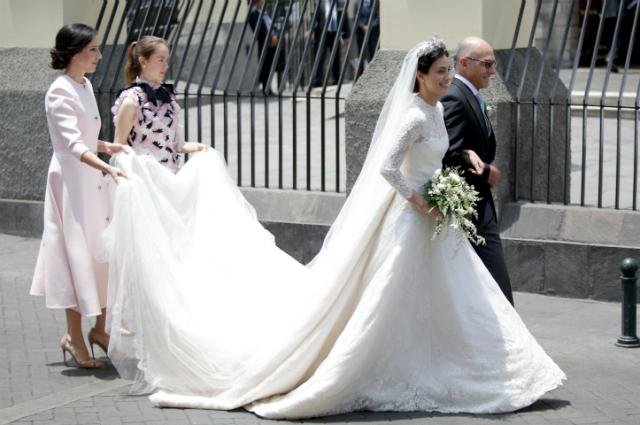 Свадьба принца Кристиана Ганноверского и Алессандры де Осма: платье невесты, звездные гости и другие подробности