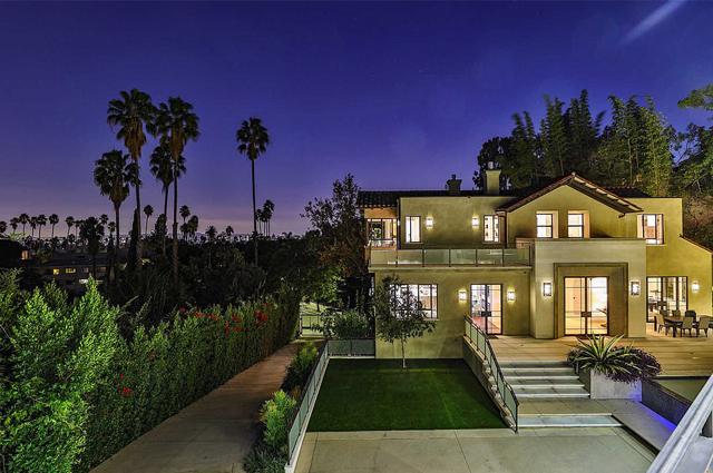 Дом Рианны в Голливуде