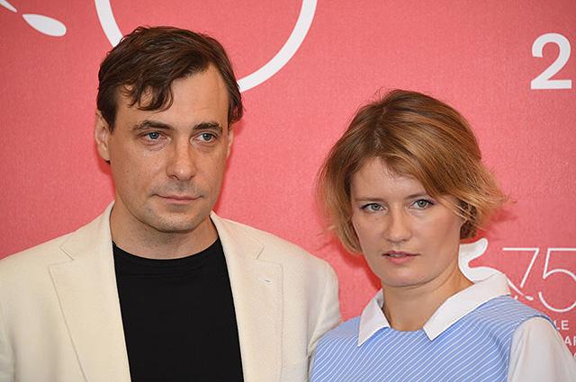 Юлия Снигирь поддержала Евгения Цыганова на Венецианском кинофестивале — 2018