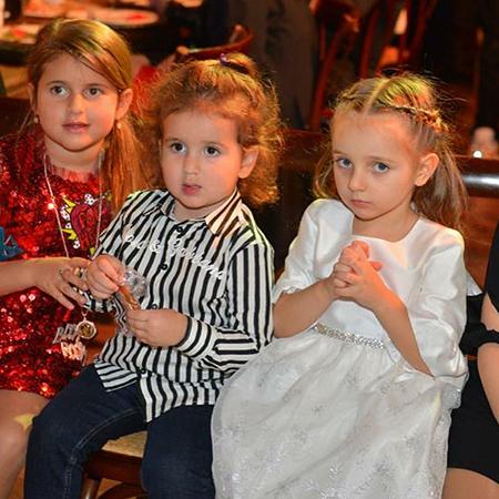 Надя Пескова с детьми Жасмин
