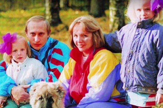 Предполагаемую старшую дочь Владимира Путина показали по телевидению