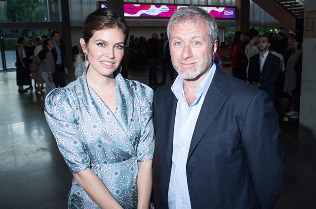 Даша Жукова и Роман Абрамович