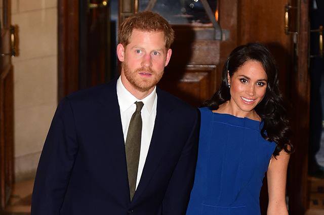 Принц Гарри и Меган Маркл сходили на благотворительный концерт в Лондоне