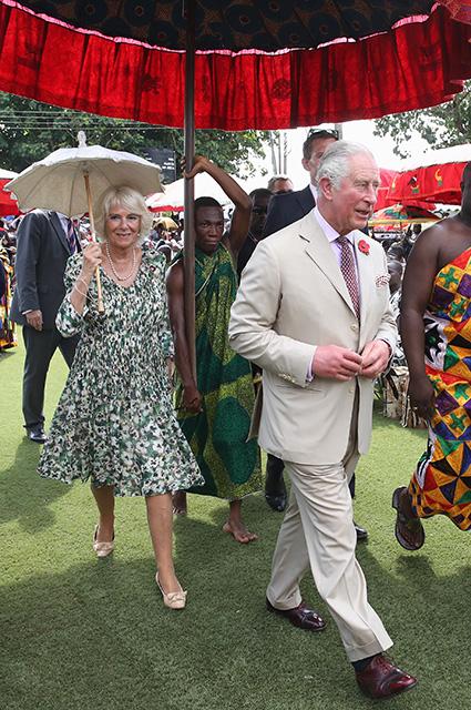Герцогиня Корнуольская Камилла и принц Чарльз
