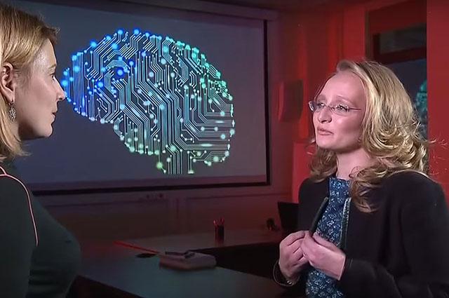 Предполагаемую дочь Владимира Путина показали по телевидению: видео
