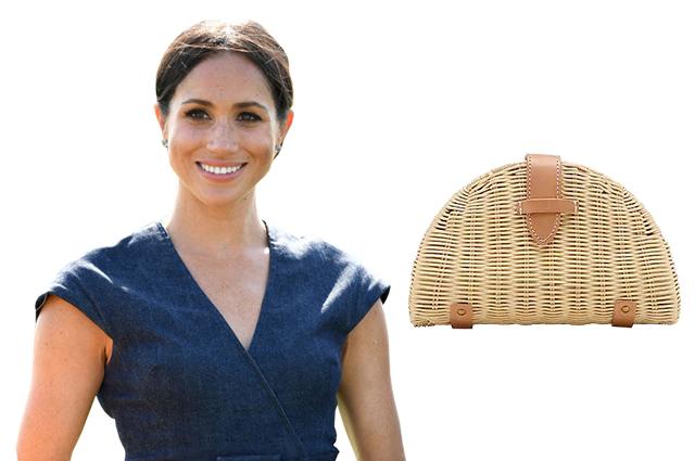 11 плетеных клатчей в стиле Меган Маркл