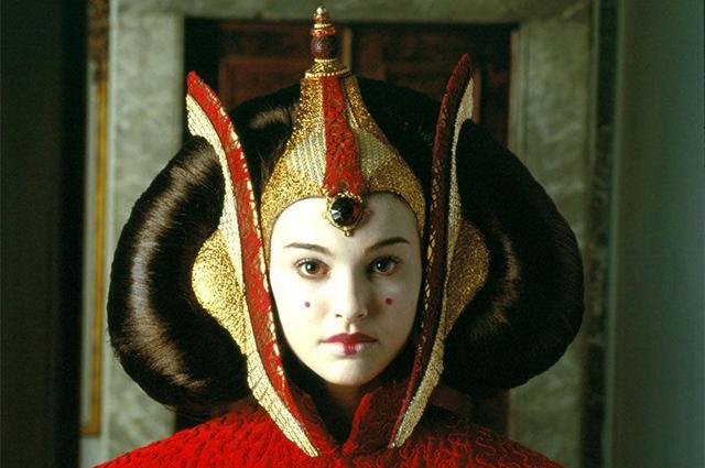 """Натали Портман. Кадр из фильма """"Звездные войны: Скрытая угроза"""""""