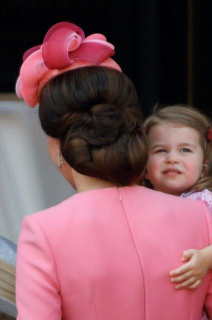 Кейт Миддлтон и принцесса Шарлота