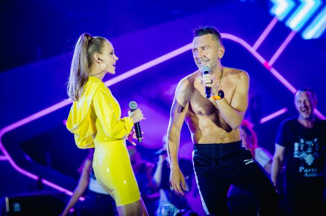 Сергей Шнуров и Глюк'oZa